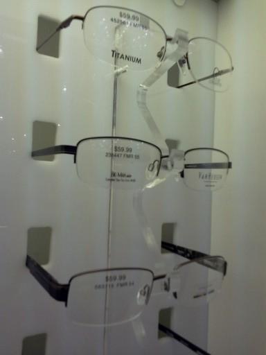 Costco Eyeglass Choices