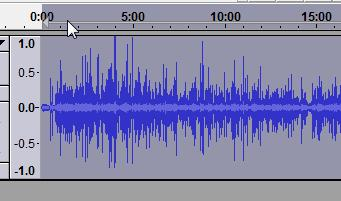 Converted file after amplify with Audacity