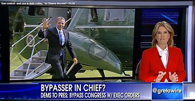 Obama, Executive Orders, Debt Ceiling, Gun-Control