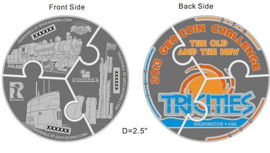 2013 Tri-City Geocoin Challenge