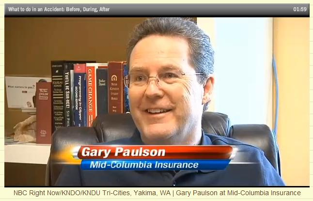 Gary Paulson at Mid-Columbia Insurance
