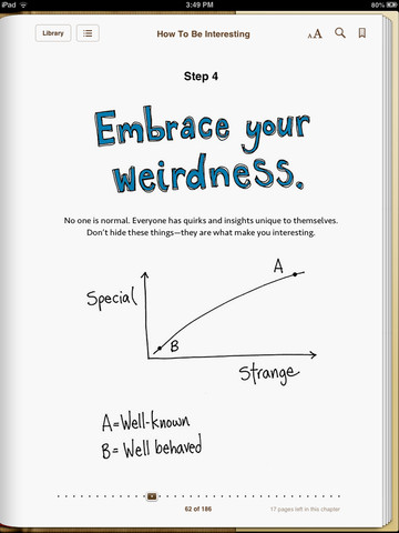 How To Be Interesting - Weirdness
