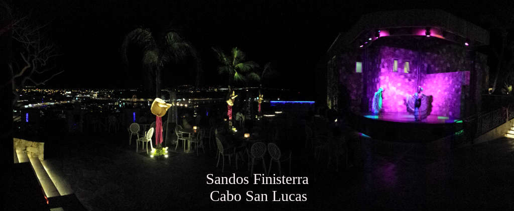 Cabo Evening at Sando Finisterra
