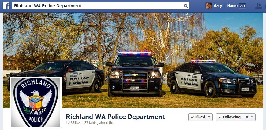 Richland WA Police Vehicles