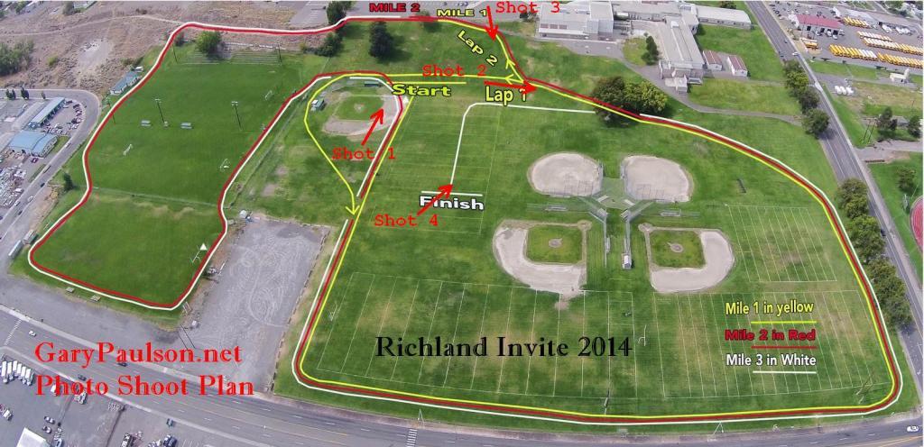 Richland Invite Shot Map