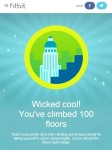 Fitbit Skyscraper Badge - 100 Floors Climbed