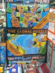 Educational Christmas Presents - The Global & United States Puzzles