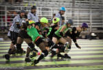 Atomic City RollerGirls at the Benton Franklin Fair & Rodeo